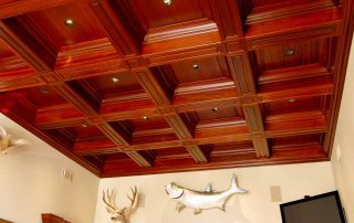 Ocala,FL Coffered Ceiling